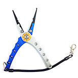 Aviation Aluminum Tungsten Steel Angle Jaw Fishing Pliers with Bag and Rope
