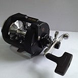 Baitcast Reels /  3.8:1 3 Ball Bearings Right-handed Sea Fishing / Bait Casting / Trolling & Boat Fishing - SRO2045AL