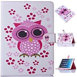 Special Design Coloured Drawing or Pattern Graphic Wallet Cases with Stand Full Body Cases for iPad 4/3/2
