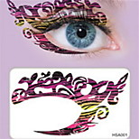 Not Blooming Eyelid Eyeshadow Tattoos Stickers Non Toxic Glitter Waterproof