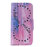 The New 8 Characters Asuka PU Leather Material Flip Card Cell Phone Case for iPhone 5 /5S