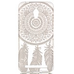 Feather Wind Chimes Hollow Pattern TPU Case for  Asus Zenfone GO ZC500TG