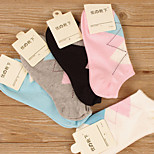 Cute Women Socks Solid Candy Color Sweet Ship Boat Short Casual Sock Thin Ankle Invisible Socks For Girls