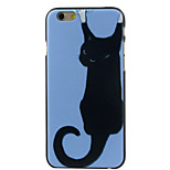 A black cat High Quality and Good Price Pattern  Hard Case for iPhone 6/6S