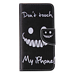 The New Tooth PU Leather Material Flip Card Cell Phone Case for iPhone 6 /6S