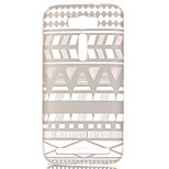 Striped Tribe Hollow Pattern TPU Case for Asus Zenfone 2 Laser ZE550KL (5.5 inch)