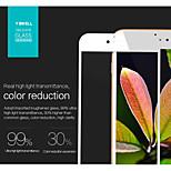 alta calidad de dicha cantidad ultra delgado de alta anti-arañazos borde 2.5d 9h clara para el iphone 6 / 6s pantalla cubierta completa