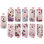 Retro Butterfly Flower Cases for iPhone6/iPhone 6s(Assorted Colors)