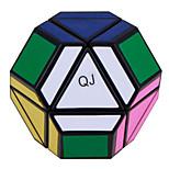 QJ Asymmetric Polyhedral Magic Cube (Black Edge)