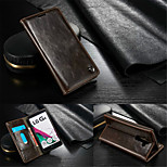 CaseMe Luxury Genuine Leather Wallet Card Slot Cover Flip Case With Stand For LG G4 (Assorted Colors)