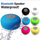 Waterproof 3W Wireless Bluetooth V3.0 + EDR + Mic Speaker w/ Silicone Suction Cup for Iphone / Ipad / Other Cellphone