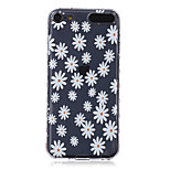 LOGROTATE®Anti-skidding Design White Flowers Pattern TPU Soft Case for iPod Touch 5/6