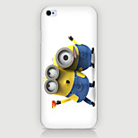 Two Yellow People Pattern PC Phone Case Back Cover Case for iPhone5C