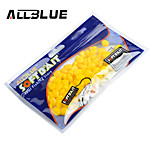 ALLBLUE Soft Bait Corn Lures 0.5g/pc 100pcs/lot Fishing Lure Multicolor