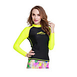 Women Sunscreen Scuba Snorkeling Wetsuit & Clothing Swimwear Shirts
