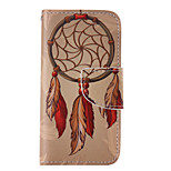 The New Campanula PU Leather Material Flip Card Cell Phone Case for iPhone 5 /5S