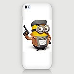 Pistol Cartoon Pattern PC Phone Case Back Cover Case for iPhone6/6S