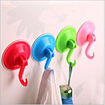 Wall Suction Hook Hanger Powerful Vacuum Kitchen Bathroom Suction Cup Sucker