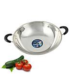 autour d'un oreilles wok sans fumée fond brûleur à gaz pour poêle à frire poêle antiadhésive pancake maker