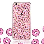 Donuts Rotating Three-Dimensional Eye Pattern TPU Back Plus Acrylic Material Phone Case for iPhone 6/6S