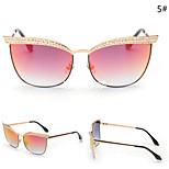 Women 's Mirrored / 100% UV400 Cat-eye Sunglasses