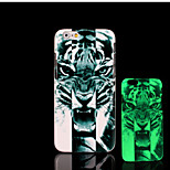 Tiger Pattern Glow in the Dark Hard Plastic Back Cover for iPhone 6 for iPhone 6s Case