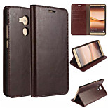 Stand Design Genuine Leather Case for Huawei Mate 8 Wallet Style (Assorted Color)
