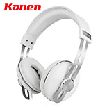 Kanen Ip-2030 Headband Wired Headset Retro Stereo Headphones Music Earphone With Microphone for Computer / Mobile Phones