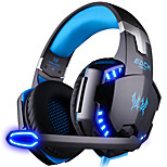 G2000 Over Ear Stereo LED Gaming Headset Headphones Earphone with Microphone for PC Games and Listen