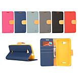 Yi Cai Gyrosigma PU leather Card Holder Leather Belt Around Open for Sony Z3/Z3Mini/M4/E4G(Assorted Colors)