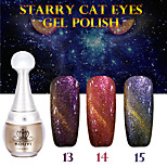 1PCS KOUYI Starry Cat Eyes Color Gel 12ml 24Colors Long Lasting Nail Polish 13-15 And That is Better.