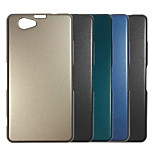 Plating Metal Surface Design PC Stiff Case for Sony Xperia Z1mini(Assorted Color)