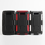 2 in 1 design case Hard Plastic Skin+Soft Outer Silicone Case for Moto Droid Ultra(XT1080)(Assorted Colors)