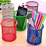 Round Desktop Storage Multifunction Pen Trash Random Style