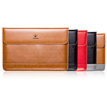 LENTION Genuine Leather Shockproof Anti-scratch Slim Carrying Laptop Bag  Case Sleeve for MacBook Air 11/12 inch