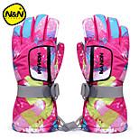 Adult & Kids Skiing Gloves Professional Waterproof Thermal Motorcycle Winter Waterproof Sports Outdoor Gloves NS5001