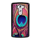 Peacock Feathers Design Metal Hard Case for LG L90/ G3/ G4
