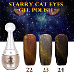 1PCS KOUYI Starry Cat Eyes Color Gel 12ml 24Colors Long Lasting Nail Polish 22-24 And That is Better