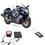 Il sistema di allarme del motociclo 9-16v 125dB 2 telecomandi antifurto antifurto