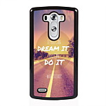 Dream and Do Design Metal Hard Case for LG L90/ G3/ G4