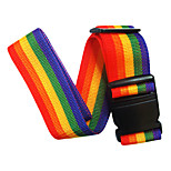 KUSHUN™ 2M Travel Packin Belt with  No Lock  Rainbow Belt Thickened