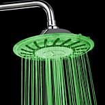 8 tuuman luokka abs kromattu johti sadesuihku värikäs muuttuviin suihku pään