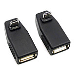 CY® Male Turnup Micro USB to USB 2.0 OTG Adapter for Samsung i9100 i9300