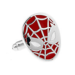 Justice Avatar Spiderman cufflinks French shirt cuff nail