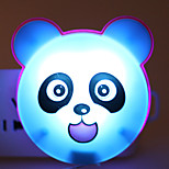 Energy-saving LED Cartoon Panda Light-Operated Mode Night Light Lamp