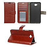 Crazy Horse Grain Window Luxury PU Leather Wallet Case with Stand for Nokia Lumia 650(Assorted Colors)