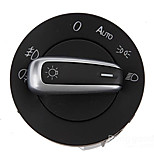 Iztoss 5ND941431B Chrome Euro Head Fog Driving Light Switch for VW Tiguan Passat CC Scirocco GTI Golf MK5 MK6