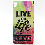Live Pattern TPU Soft Case for Sony Xperia Z5 Premium