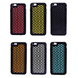 High Quality Cellular Water Cube Design TPU Soft 2 In 1 Back Cover Case for iPhone 6/6S(Assorted Colors)