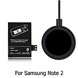 Qi Wireless Charging Kit Charging Adapter Receptor Receiver Pad Coil For Samsung Galaxy Note 2 N7100 N7105